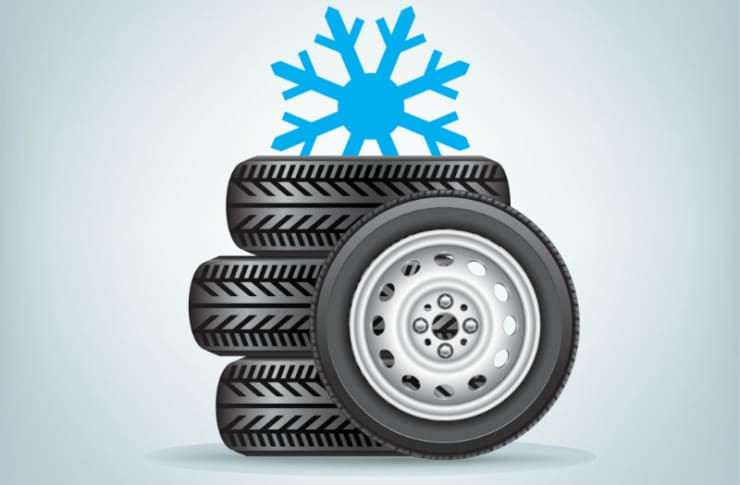 Get winter tyres for your car