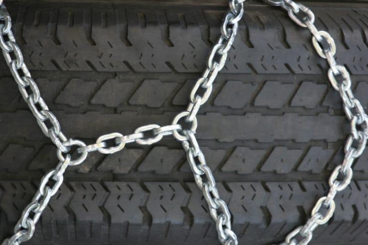 Winter Tyre and Snow Chain change