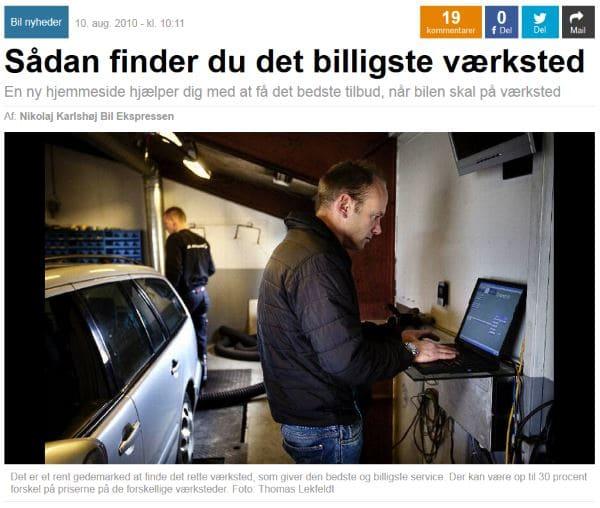 Ekstrabladet: Sådan finder du det billigste værksted