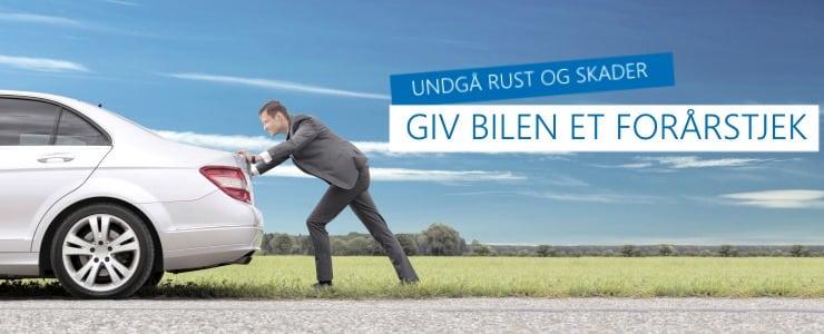 Undgå rust og skader: Giv bilen et forårstjek