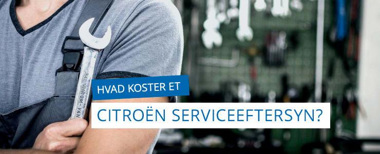 Serviceeftersyn - Få den bedste pris på Citroën & DS serviceeftersyn