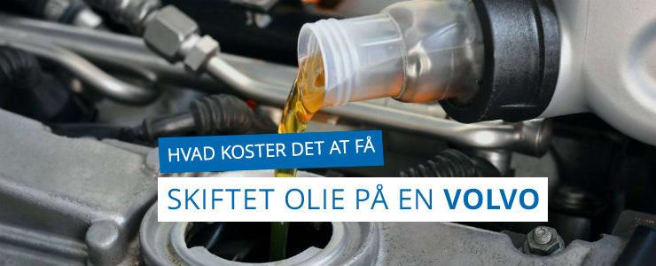 Få pris på olieskifte til din Volvo