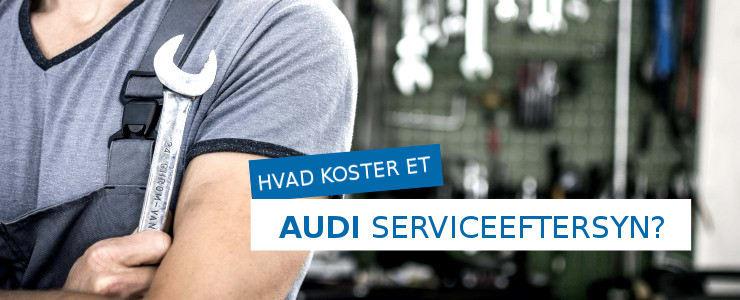 Pris på Audi serviceeftersyn