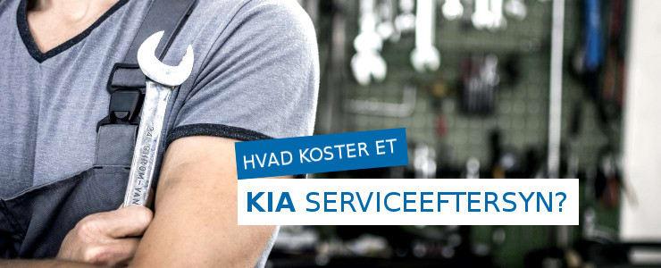 Pris på et Kia serviceeftersyn