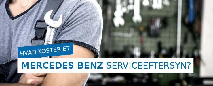 Pris på Mercedes Benz serviceeftersyn