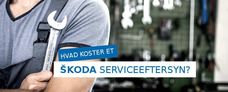 Pris på et Skoda serviceeftersyn