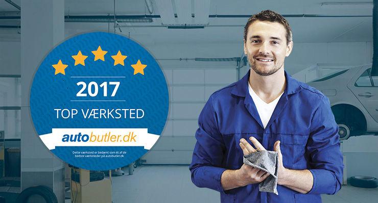 Danmarks bedste værksteder 2017