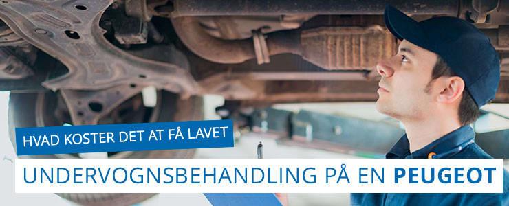 Undervognsbehandling og rustbeskyttelse - Peugeot