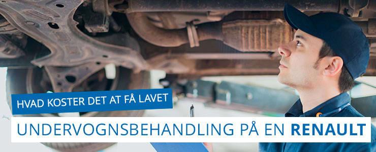Undervognsbehandling og rustbeskyttelse - Renault