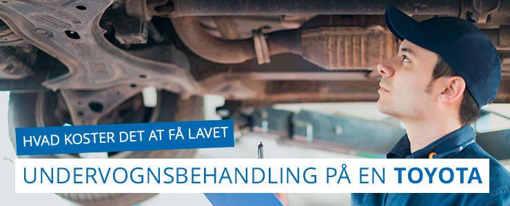 Undervognsbehandling og rustbeskyttelse - Toyota
