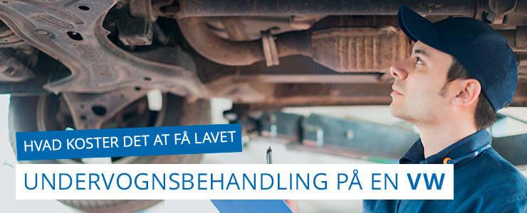 Undervognsbehandling og rustbeskyttelse - Volkswagen/VW