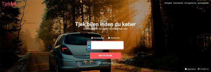 Tjek Restgæld ✓ Synsrapporter ✓ KM snyd ✓ Find ejer ✓ Undgå snyd ved bilhandel ✓ DK's bedste nummerpladetjek giver dig svar på 10 sekunder.