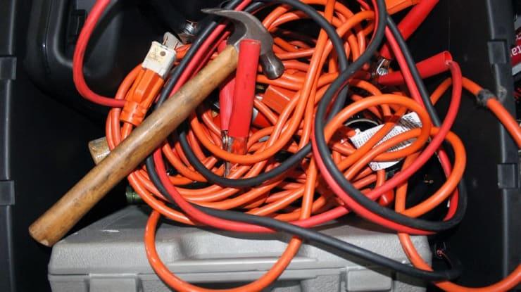 cables démarrage voiture