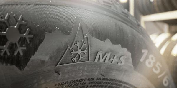 marquage M+S pneu toutes saisons