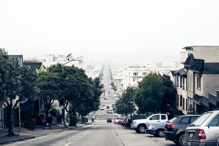 descente en zone urbaine