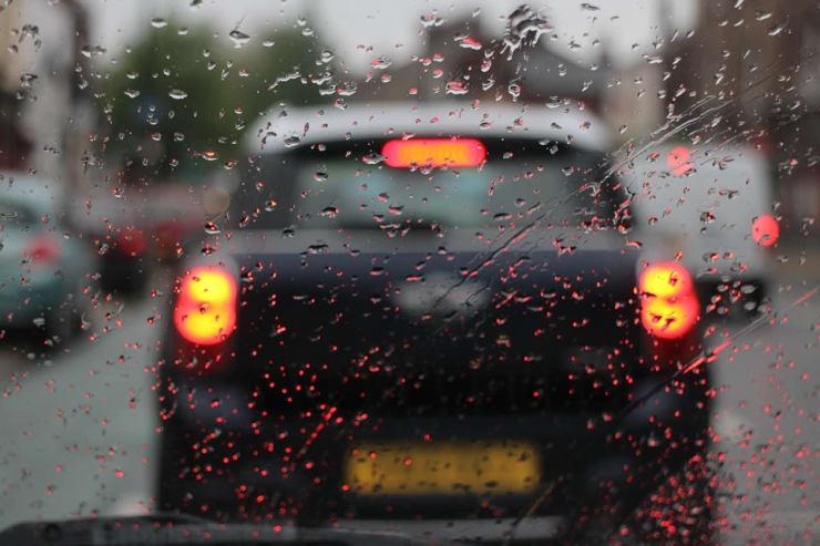 pluie pare-brise