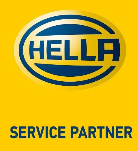 AS Automobiler - Hella service partner logo