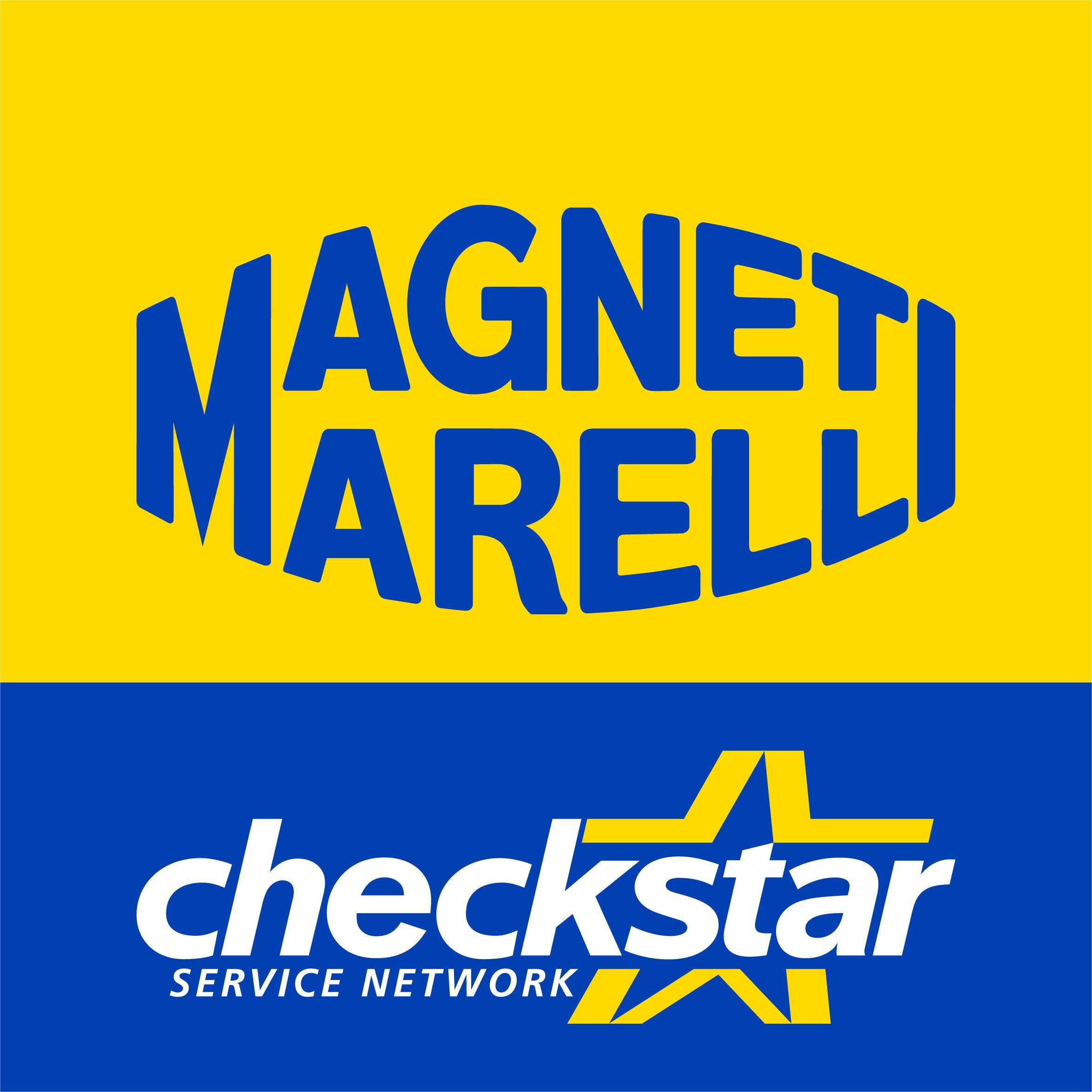 Brdr. Dan Biler A/S - Magneti Marelli Checkstar logo
