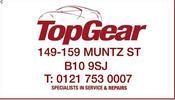 Topgear Autoparts Ltd logo