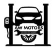 A W Motors logo