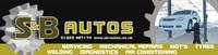 S & B Autos logo