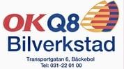 OKQ8 Bilverkstad Bäckebol logo