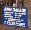 AWM Garage logo