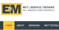 E & M MOT & Servicing - Euro Repar logo