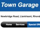 Town Garage logo