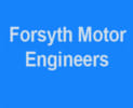 Forsyth Motor Engineers logo