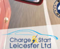 Charge & Start Leicester logo