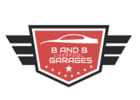 B and B Garages logo