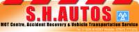 S H Autos logo