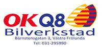 OKQ8 Bilverkstad Västra Frölunda logo