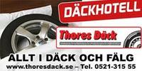 Thores Däck & Bilservice i Nybrostrand logo