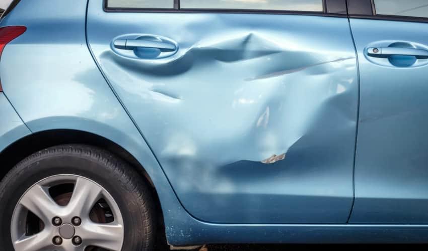 Buler, skrammer eller ridser i bilen