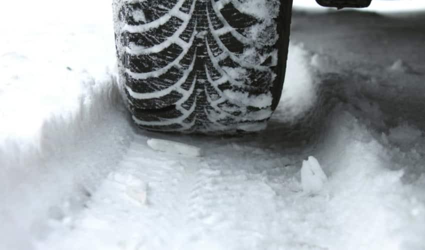 Skift til vinterdæk - hjulskifte