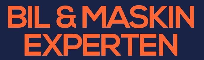 Bil & maskinexperten - AD Bilverkstad logo
