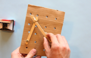 Design a Mechanical Pegboard