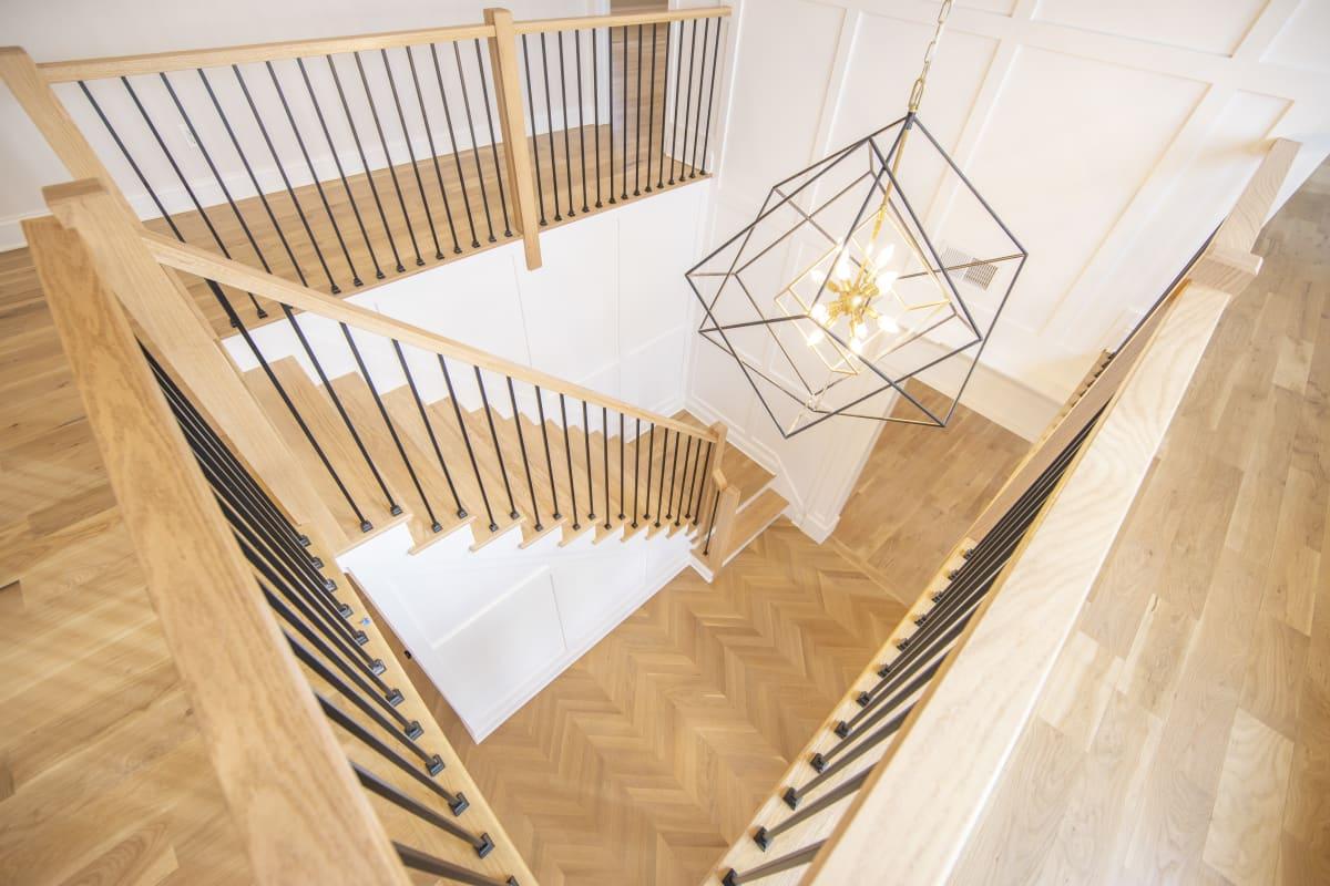 House interior steps