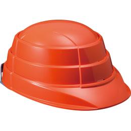 防止用ヘルメット  オサメットJr オレンジ 401-938
