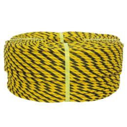 標識ロープ PE製 φ12×100m 400-901