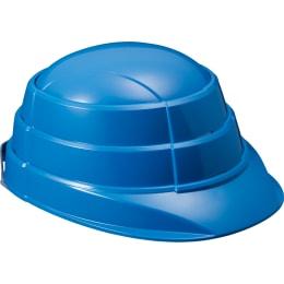 防止用ヘルメット オサメット ブルー 401-670