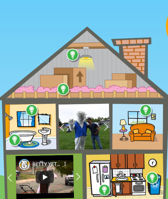 Carbon Yeti's House Website Screenshot