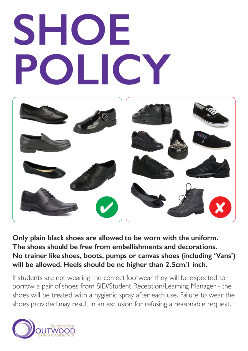 Ogat shoe policy a3 oopuik