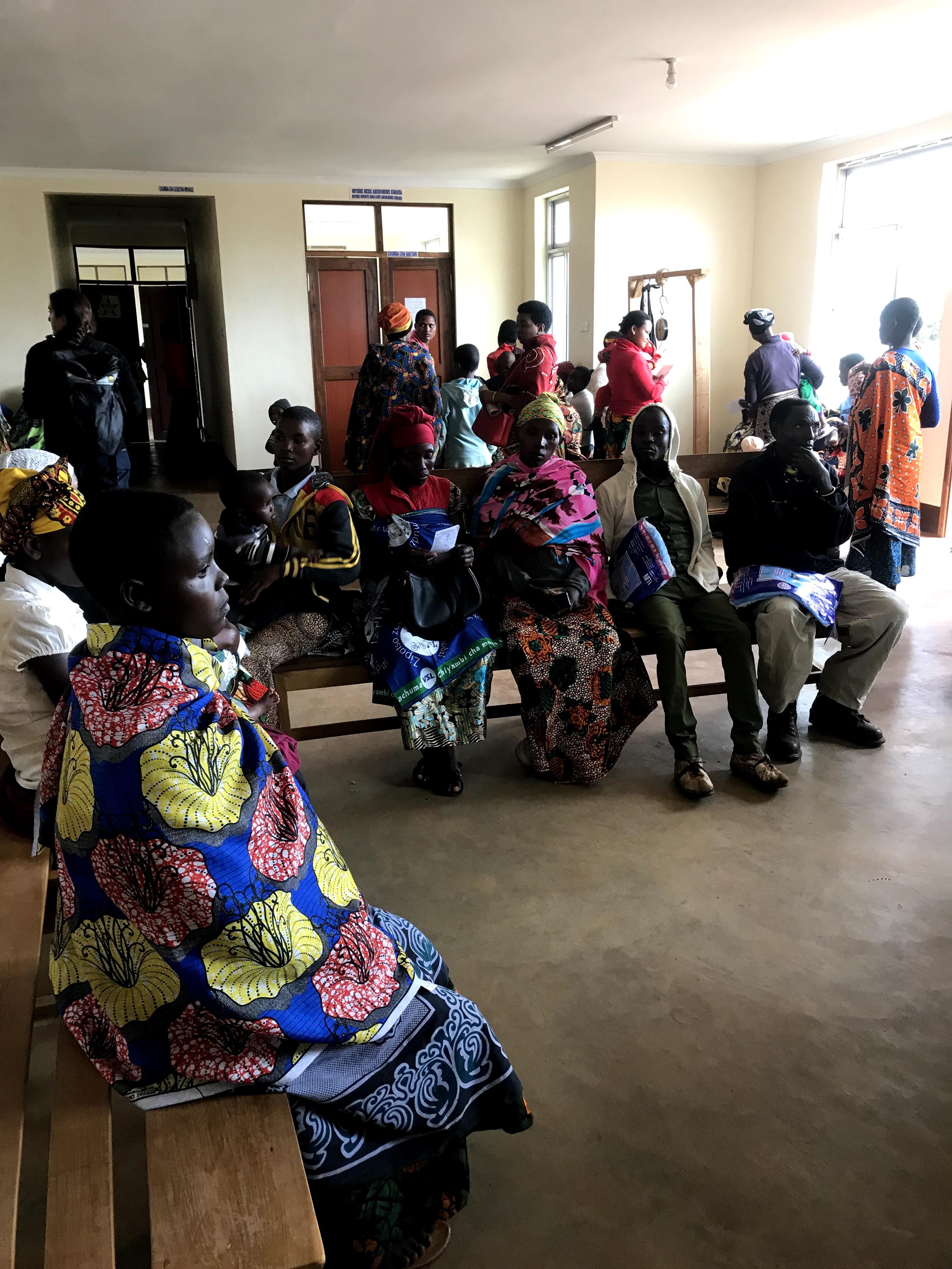 6.33 - Project 2021 - Syphilis testing - Patients wait in the Dareda Kati dispensary.jpg