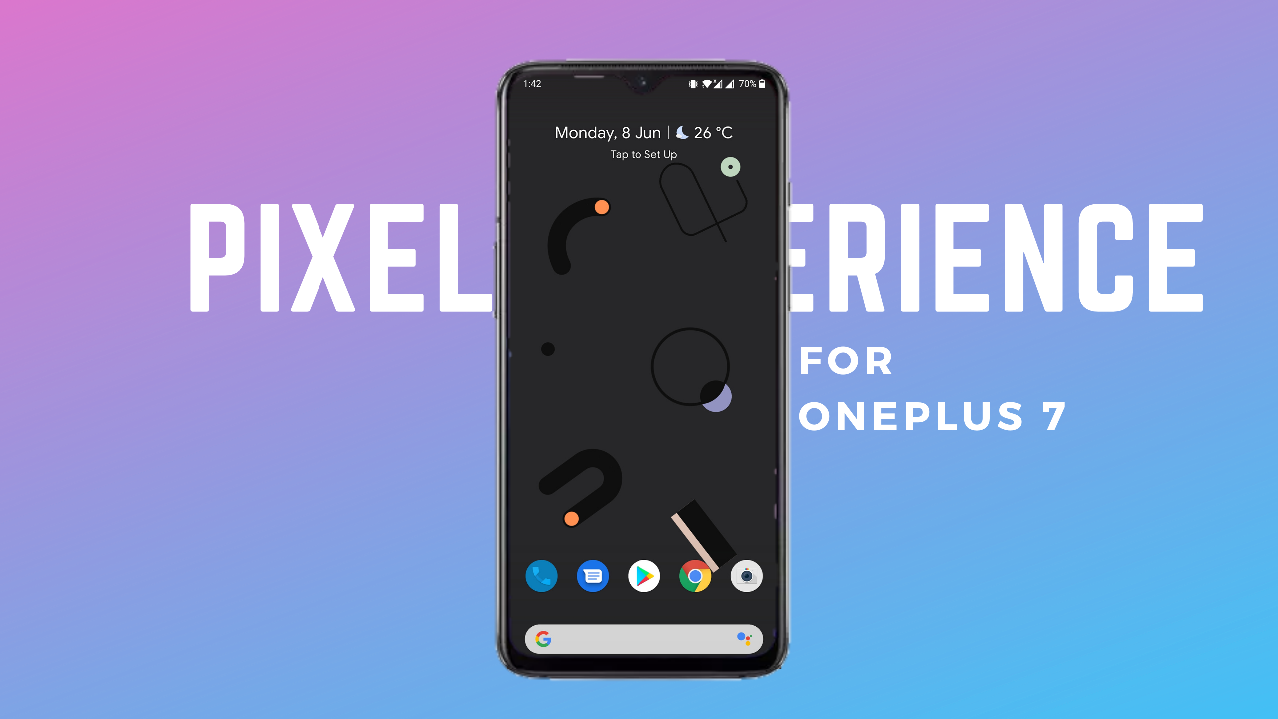 Pixel Experience ROM for OnePlus 7 Installation and Review