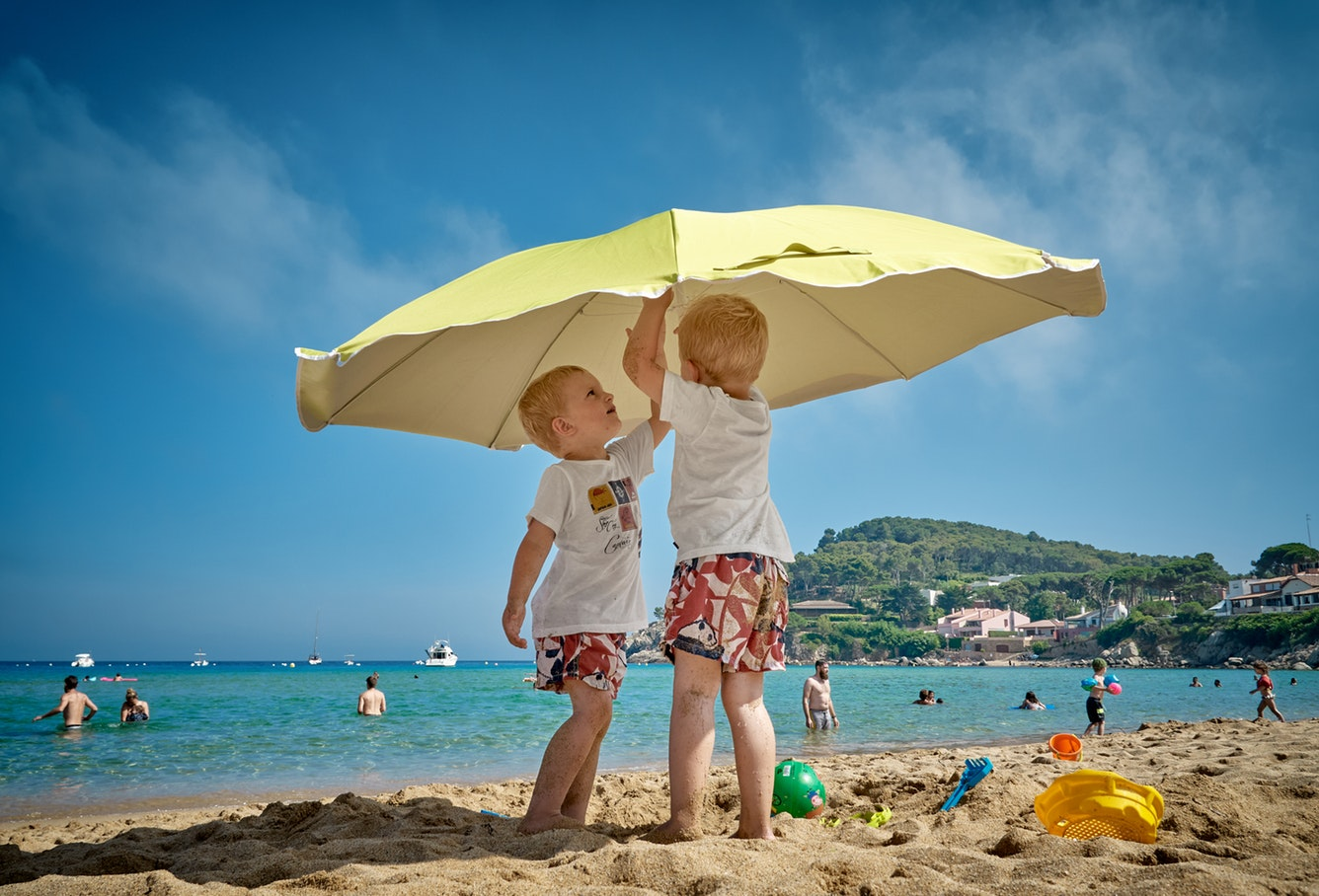 Kids are inconvenient if you are not ready for vacation