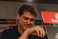 Iker Casillas will retire from...
