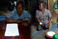 A gang-rape player was detained by...